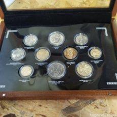 Monedas Roma República: REPLICA DE 10 MONEDAS ROMANAS. Lote 176364689