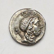 Monedas Roma República: DENARIO REPÚBLICA ESPAÑA HISPANIA CN CORNELIUS LENTULUS MARCELLINUS AÑO 76-75 AC ÉPOCA POMPEYO. Lote 177002903