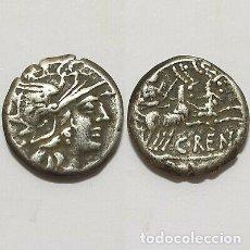 Monedas Roma República: BONITOS DENARIO REPUBLICANO DE PLATA RENIUS.. Lote 178132579