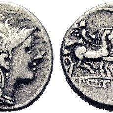 Monedas Roma República: 110-109 A.C. CLAUDIA. DENARIO. MBC+. Lote 178325418