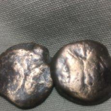 Monedas Roma República: DOS ENORMES BRONCES ROMANOS PARA SU ESTUDIO CON UN PESO TOTAL DE 38,61 GRS. Lote 178827196