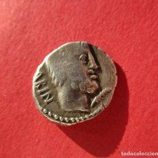 Monedas Roma República: TITURIA . DENARIO REPUBLICANO MUY BONITO . . Lote 179194223