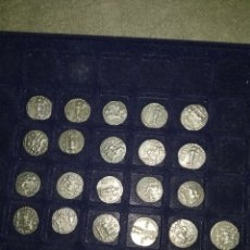 Monedas Roma República: 21 MONEDAS ROMANAS REPRODUCCIONES. Lote 182809538