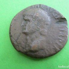 Monedas Roma República: MONEDA ROMANA DE BRONCE , CREO QUE ES CLAUDIO , ORIGINAL. Lote 184127037