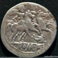 Monete Roma Repubblica: DENARIO REPUBLICA ANÓNIMO ROMA 209-208 A.C. REVERSO DELFÍN. Lote 83556720