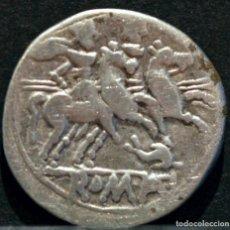 Monedas Roma República: DENARIO REPUBLICA ANÓNIMO ROMA 209-208 A.C. REVERSO DELFÍN. Lote 83556720