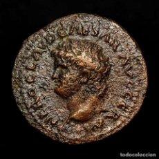 Monedas Roma República: NERON 54-68 DC SEMIS, CER QVINQ ROM CON; SC MESA CON URNA Y CORONA.. Lote 186386715