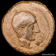 Monedas Roma República: REPÚBLICA ROMANA - HISPANIA, CASTULO (LINARES, JAÉN, SPAIN). AE AS, 180 - 150 BC - SPHINX / HAND SER. Lote 187146400