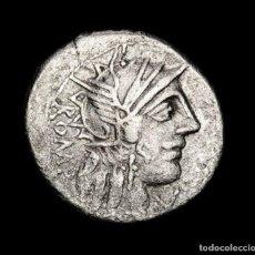 Monedas Roma República: DENARIO REPÚBLICA ROMANA - M. FANNIUS. ROME, 123 B.C. MUY ESCASO.. Lote 189312052