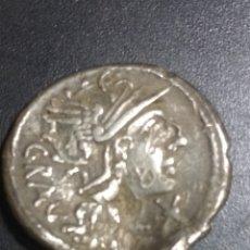 Monedas Roma República: BUEN DENARIO ANTESTIA.. Lote 191296985