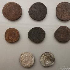 Monedas Roma República: COLECCIÓN 8 MONEDAS ROMANAS DE TESAFILM AÑOS 70'. Lote 245093060
