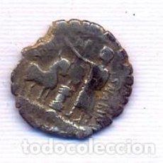 Monedas Roma República: INTERESANTE Y ESCASO DENARIO DE LA FAMILIA POSTUMIA. Lote 195318107