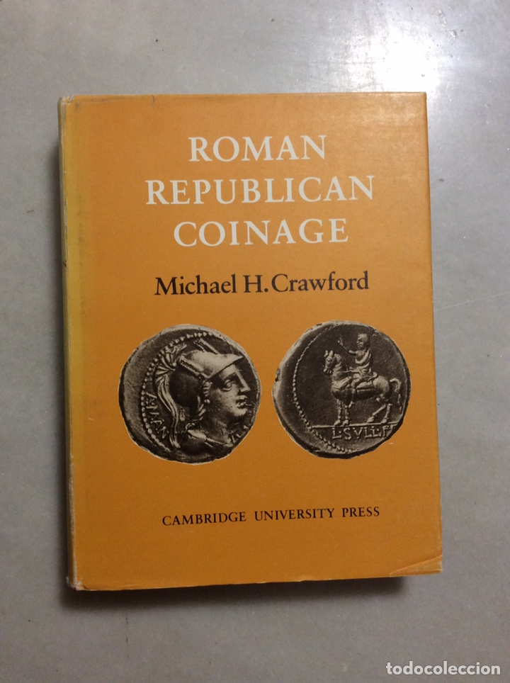Monedas Roma República: ROMAN REPUBLICAN COINAGE TOMO I y II - Foto 2 - 198334811
