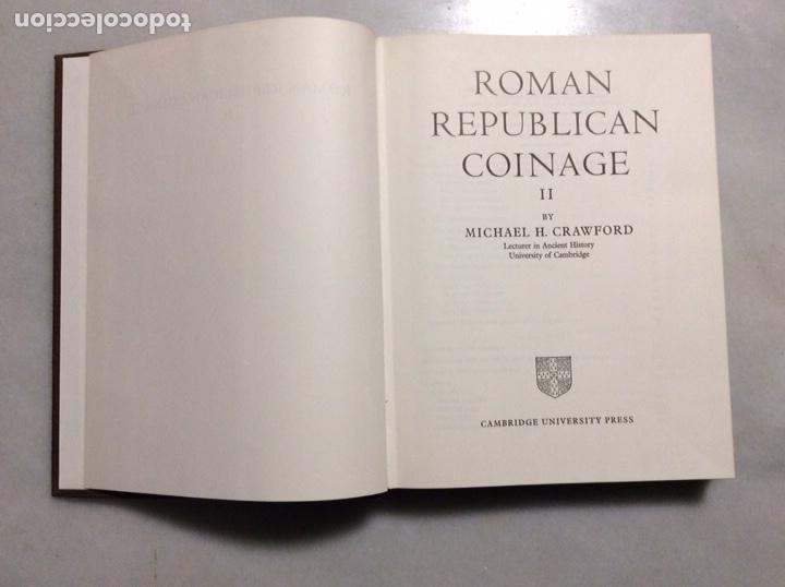 Monedas Roma República: ROMAN REPUBLICAN COINAGE TOMO I y II - Foto 8 - 198334811