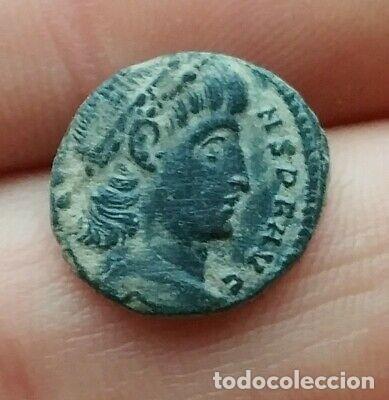 BONITA MONEDA ROMANA. (Numismática - Periodo Antiguo - Roma República)
