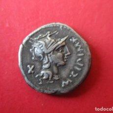 Monedas Roma República: REPUBLICA ROMANA. DENARIO DE CIPIA. 115/14 AC. #SG. Lote 204442830