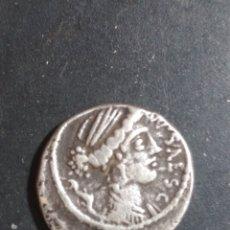 Monedas Roma República: DENARIO FAMILIA PLAUTIA.. Lote 205325090