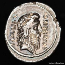 Monedas Roma República: ROMA REPUBLICA C. MEMMIUS C.F MEMMIVS AED·CERIALIA·PREIMVS·FECIT. Lote 205769886