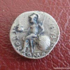 Monedas Roma República: ROMA , DENARIO, NUMERIO FABIO, GENS FABIA, 126 A.C.. Lote 206257057