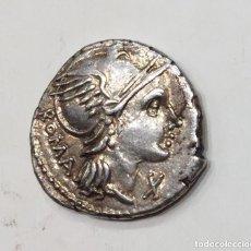 Monedas Roma República: DENARIO REPÚBLICA L FLAMINIUS CILO FAMILIA FLAMINIA REV VICTORIA EN BIGA 105 - 106 AC. Lote 209049833