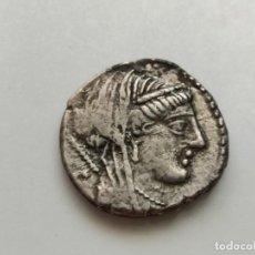 Monedas Roma República: DENARIO GENS RUBRIA. DENARIO. EBC-/MBC+. CRAWFORD 348/2.. Lote 210127010