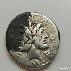 Monedas Roma República: DENARIO REPÚBLICA GENS / FURIA / M.FURIUS PHILUS REF:CRAW 281 PESO 3,80G. Lote 210127471