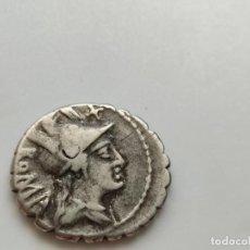 Monedas Roma República: DENARIO REPUBLICANO DE LA FAMILIA POBLICIA: C·POBLICI·Q·F.. Lote 210128328