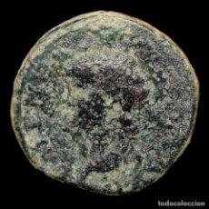 Monedas Roma República: NERON 54-68 DC SEMIS, MAX TRIB POT P P / S C.ROMA SENTADA. Lote 210191046