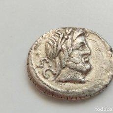 Monedas Roma República: REPÚBLICA ROMANA - DENARIO, BALBUS PESO 3,75G PLATA. Lote 210964605