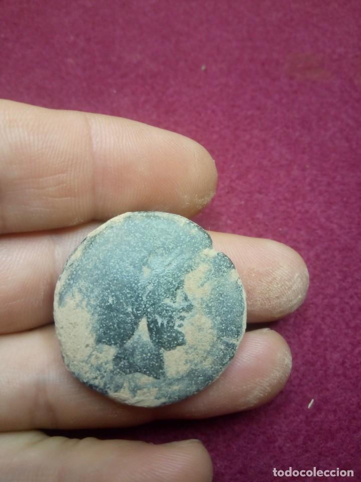 AS DE JANO MÓDULO GRANDE QUE (Numismática - Periodo Antiguo - Roma República)