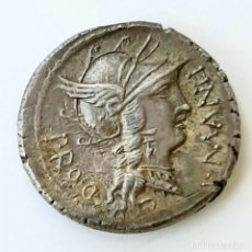 Monedas Roma República: DENARIO CIRCA 82 A.C. SULLA-MANLIUS TORQUATUS. Lote 214483352