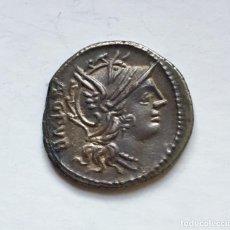 Monedas Roma República: DENARIO PLATA REPÚBLICA ROMANA FAMILIA SENTIA LUCIUS SENTIUS. Lote 218956687
