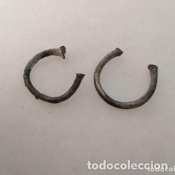 LOTE ANILLOS IBERO ROMANOS DE PLATA (Numismática - Periodo Antiguo - Roma República)
