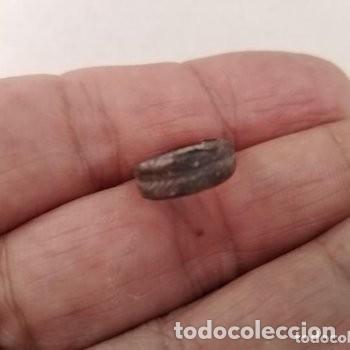 ANILLO IBERO ROMANOS DE PLATA TIENE ESPIGA TALLADA. (Numismática - Periodo Antiguo - Roma República)