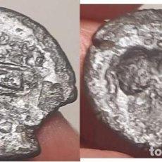 Monedas Roma República: REPUBLICA ROMANA, TRIENTE 21 M/M, ANVERSO 4 PUNTOS Y REVERSO PROA CON LEYENDA ROMA. Lote 221745680