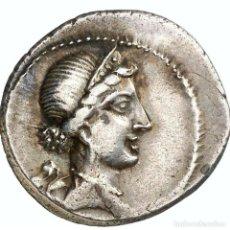 Monedas Roma República: JULIO CÉSAR - 54-51 A.C. DENARIO. GALIA - VENUS / TROFEO CAESAR. Lote 221995611