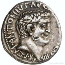 Monedas Roma República: MARCO ANTONIO Y D. TURILLIUS. DENARIO. ACTIUM ? - VICTORIA DTVR.. Lote 222009271