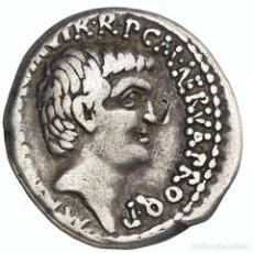 Monedas Roma República: MARCO ANTONIO, LUCIO ANTONIO Y M. COCCEIUS NERVA, EFESOS, 41 A. C.. Lote 222012440