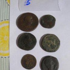 Monedas Roma República: LOTE 7 MONEDAS. Lote 222127261