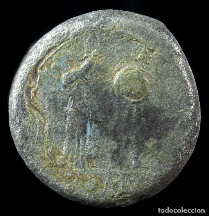 Monedas Roma República: Victoriato Republicano Anonimo - 16 mm / 3.28 gr. - Foto 2 - 222379807