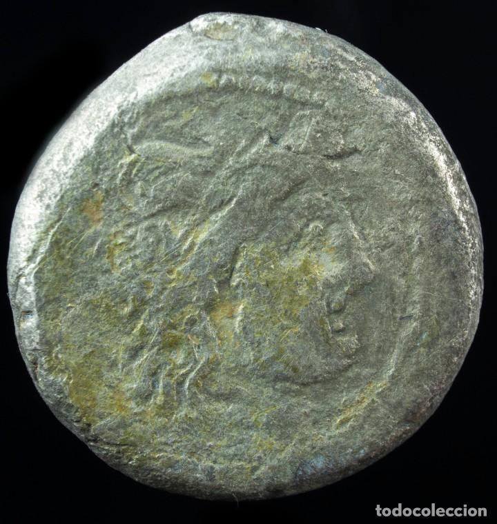 VICTORIATO REPUBLICANO ANONIMO - 16 MM / 3.28 GR. (Numismática - Periodo Antiguo - Roma República)
