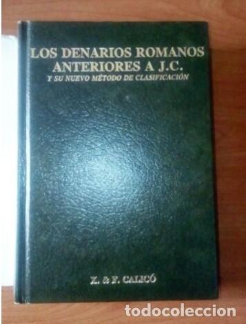 Monedas Roma República: LOS-DENARIOS-ROMANOS-ANTERIORES A JESUCRISTO- CALICÓ - Foto 2 - 222392857