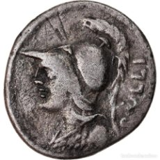 Monedas Roma República: MONEDA, SERVILIA, DENARIUS, ROME, BC+, PLATA, CRAWFORD:328/1. Lote 222624977