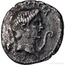 Monedas Roma República: MONEDA, SEXTUS POMPEY, DENARIUS, SICILY, BC+, PLATA, CRAWFORD:511/3A. Lote 222637710