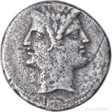 Monedas Roma República: MONEDA, ANONYMOUS, DIDRACHM, ROMA, BC+, PLATA, CRAWFORD:30/1. Lote 222719770