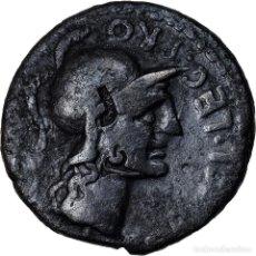 Monedas Roma República: MONEDA, POMPEIA, DENARIUS, ROME, BC+, PLATA, CRAWFORD:469/1A. Lote 222724555