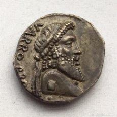 Monedas Roma República: ATRACTIVA MONEDA REPÚBLICA ROMANA DENARIO POMPEIUS MAGNUS - HISPANIA AÑO 49 A J.C.. Lote 233975340