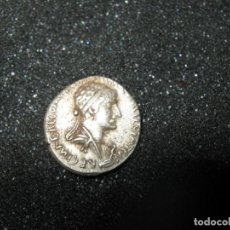 Monedas Roma República: MARCO ANTONIO, † 30 A. C. BC Y CLEOPATRA. Õ DENARIO, 34 A. C. CHR. ALEJANDRÍA; 3,20 G.. Lote 242472255