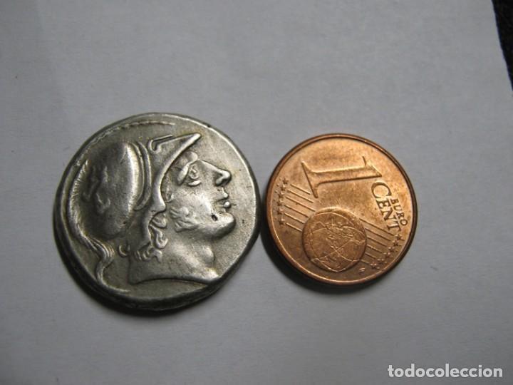 DI DRACMA 7,2 G FORJA ROMANA. CA 150200 AC. INCIERTO, MONEDA (Numismática - Periodo Antiguo - Roma República)
