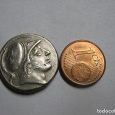 Monedas Roma República: DI DRACMA 7,2 G FORJA ROMANA. CA 150'200 AC. INCIERTO, MONEDA. Lote 243986030